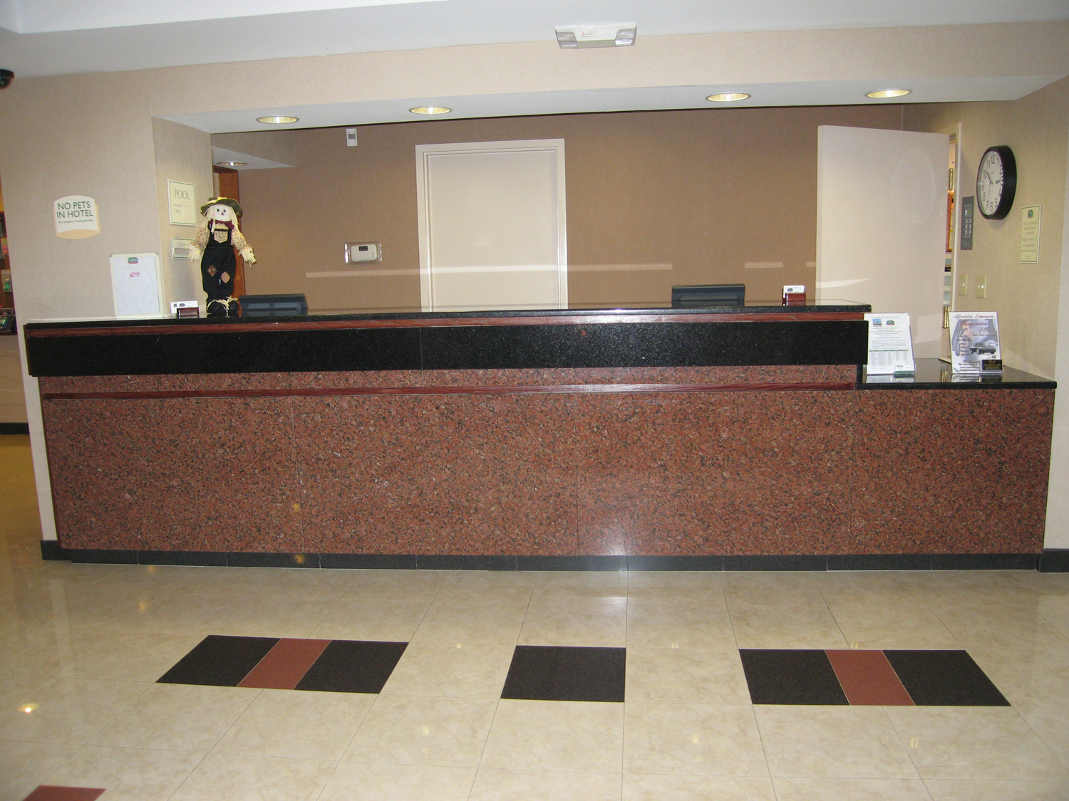 Marriott Front Desk