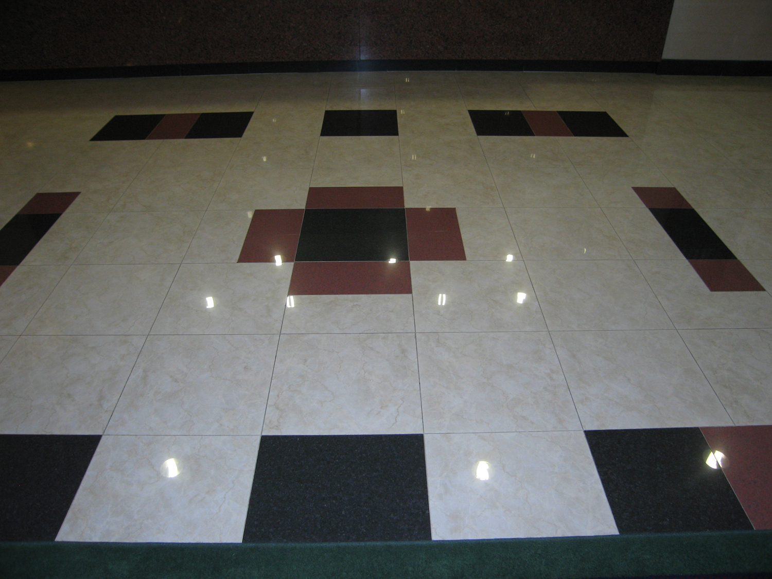 Marriott Lobby Tile
