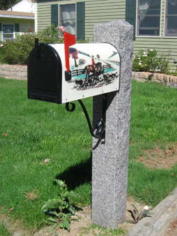 Caledonia-Mailbox-post-with-bracket