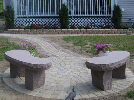 autumn-pink-standard-kidney-benches
